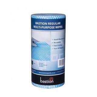 BASTION ROLL REGULAR WIPES BLUE 45M