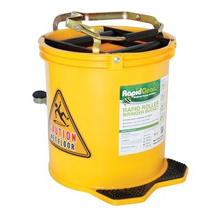 RAPIDCLEAN COLOURED WRINGER BUCKET 16L - YELLOW
