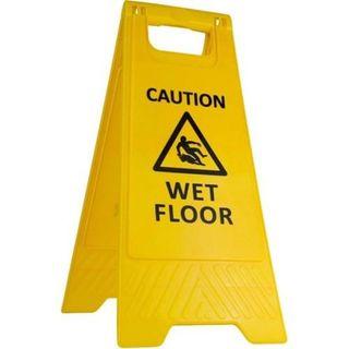 A-FRAME FLOOR SAFETY SIGN - WET FLOOR