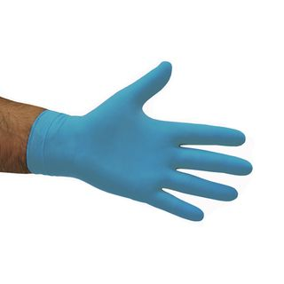 NITRILE BLUE GLOVES SMALL 100S
