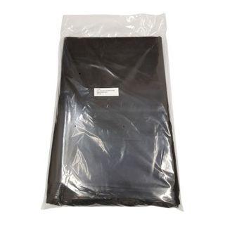 RAPIDCLEAN WHEELIE BIN RUBBISH BAGS BLACK 1125MM X 1500MM X 38MU 240L 30S