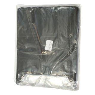 RAPIDCLEAN RUBBISH BAGS BLACK 810MM X 1000MM X 30MU 80L 50S