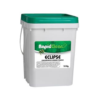 RAPIDCLEAN ECLIPSE LAUNDRY POWDER FRONT AND TOP LOADER CONCENTRATE 10KG