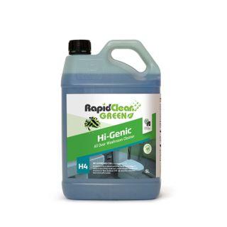RAPIDCLEAN HI GENIC TOILET AND BATHROOM CLEANER 5L