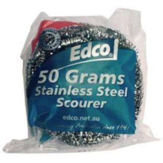 EDCO STAINLESS STEEL SCOURER 50G