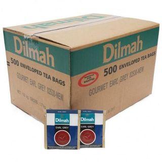 DILMAH 80492 ENVELOPED TEA BAGS EARL GREY 500S
