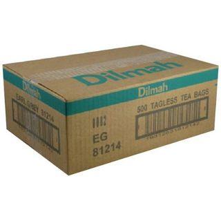 DILMAH 80487 TAGLESS TEA BAGS EARL GREY 500S
