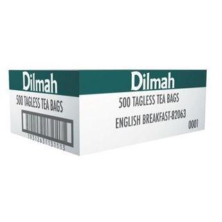DILMAH 80488 TAGLESS TEA BAGS ENGLISH BREAKFAST 500S