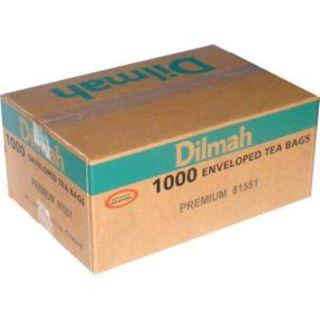 DILMAH 80474 ENVELOPED TEA BAGS PREMIUM 1000S