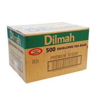 DILMAH 80467 ENVELOPED TEA BAGS PREMIUM 500S