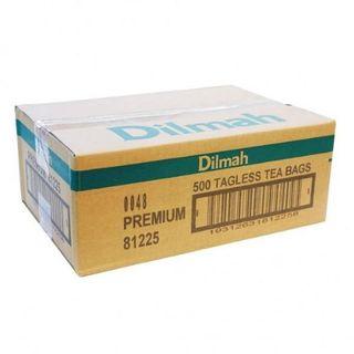 DILMAH 80468 TAGLESS TEA BAGS PREMIUM 500S