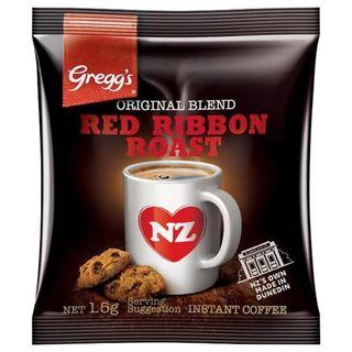 GREGGS RED RIBBON ROAST COFFEE SACHETS 1.5G 250S