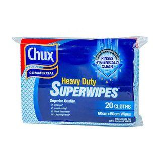 CHUX HEAVY DUTY CLOTH BLUE 20S