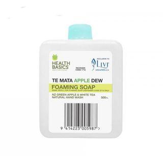 LIVI 1716 HEALTH BASICS FOAMING SOAP APPLE REFILL 500ML