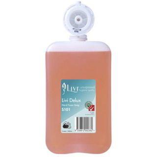 LIVI S101 DELUX PERFUMED FOAM HAND SOAP 1L