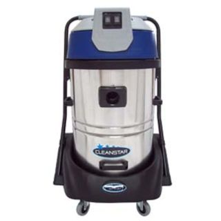 COMMERCIAL WET N DRY VACUUM CLEANER 60L WITH S/STEEL BODY