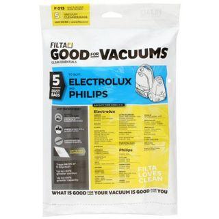PHILIPS MOBILO / ELUX EXCELLIO VACUUM PAPER DUST BAG 5S - F013