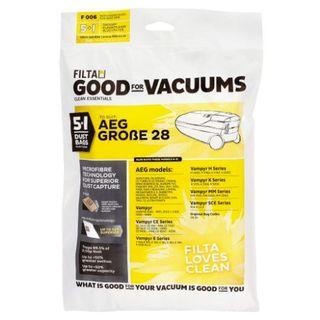 AEG GROBE 28 VACUUM PAPER DUST BAGS 5S