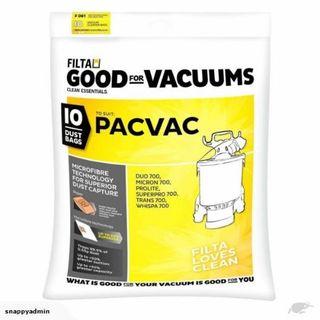 PACVAC BAGS MICROFIBRE 10S (F061,  C061)