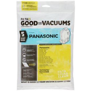 NATIONAL PANASONIC VACUUM PAPER DUST BAGS 5S -  F040