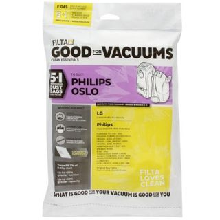 PHILIPS OSLO VACUUM PAPER DUST BAGS 5S - F045