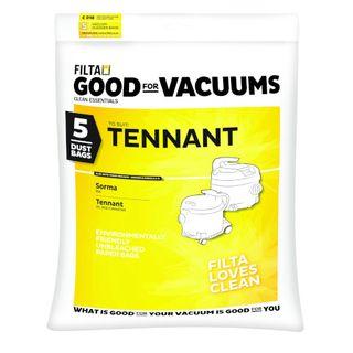 TENNANT/SORMA PAPER VACUUM BAGS 5S -  C018