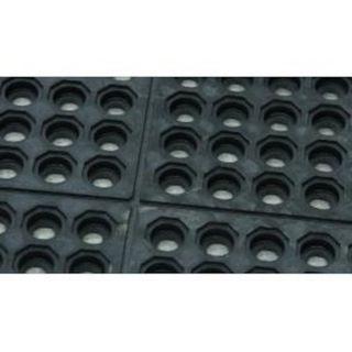 SOFT N SAFE DRAINER MAT 1.524 X .914    NITRILE BLACK