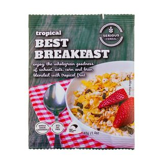 SERIOUS CEREAL BEST BREAKFAST 40G BREAKFAST CEREAL PORTIONS 48S - HPCBB