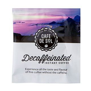CAFE DE SOL DECAF SOLUBLE COFFEE SACHETS 500S - HPCD