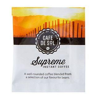 CAFE DE SOL SUPREME SOLUBLE COFFEE SACHETS 500S - HPCS