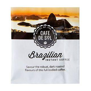 CAFE DE SOL BRAZILIAN SOLUBLE COFFEE SACHETS 500S - HPCB