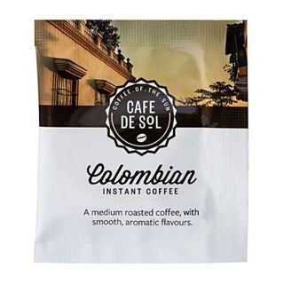 CAFE DE SOL COLOMBIAN SOLUBLE COFFEE SACHETS 500S - HPCC