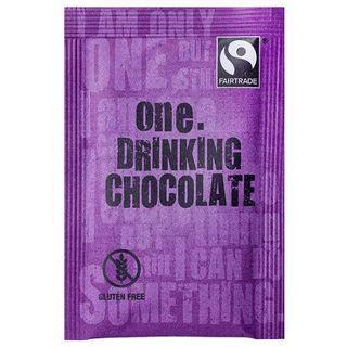 ONE 'FAIRTRADE' DRINKING CHOCOLATE SACHETS 300S - ONEDC
