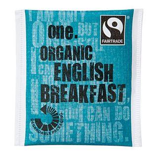ONE 'FAIRTRADE' ENGLISH BREAKFAST TEA BAGS 200S - ONETEB