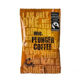 ONE 'FAIRTRADE' PLUNGER COFFEE SACHETS 75S - ONECP