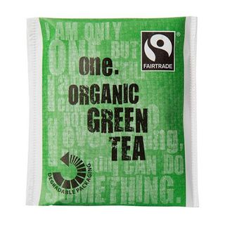 ONE 'FAIRTRADE' ENVELOPED GREEN TEA TEA BAGS 200S - ONEGT
