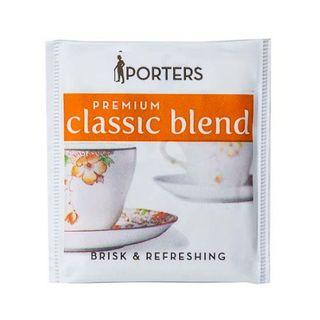 PORTERS PREMIUM BLEND ENVELOPED TEA BAGS 500S - HPTP