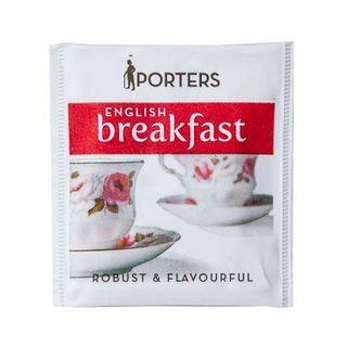 PORTERS ENGLISH BREAKFAST ENVELOPED TEA BAGS 200S - HPTEB