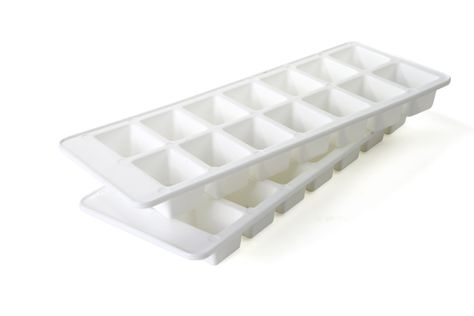 ICE CUBE TRAY SET 2PCE WHITE 14, CUISENA