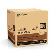 CUP SAUCE BROWN S/CANE 60ML, BIO 1000CTN