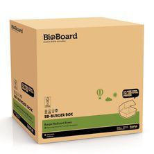 BURGER BOX BROWN, BIOBOARD 250CTN