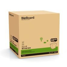 CHIP BOX BROWN, BIOBOARD 500CTN