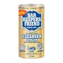 CLEAN & POLISH 340G, BAR KEEPERS FRIEND