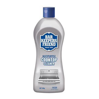 COOKTOP CLEANER 369G, BAR KEEPERS FRIEND