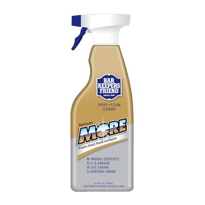FOAM SPRAY 750ML, BAR KEEPERS FRIEND