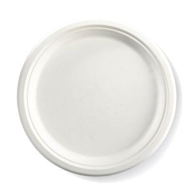 """ROUND PLATE WHITE 10"""", BIOPAK"""