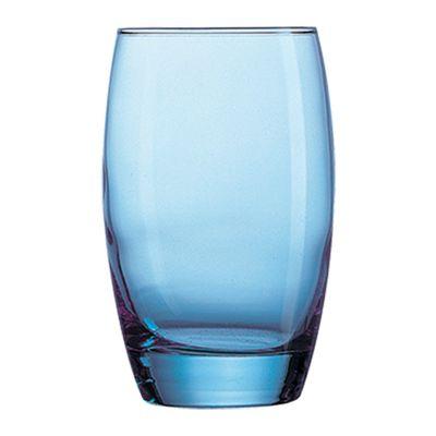 GLASS HI BALL SALTO ICE BLUE 350ML ARC