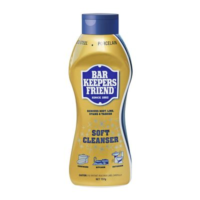 SOFT CLEANSER 737G, BAR KEEPERS FRIEND