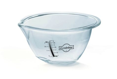 BOWL GLASS 30CM 4.2L, EXPERT O'CUISINE