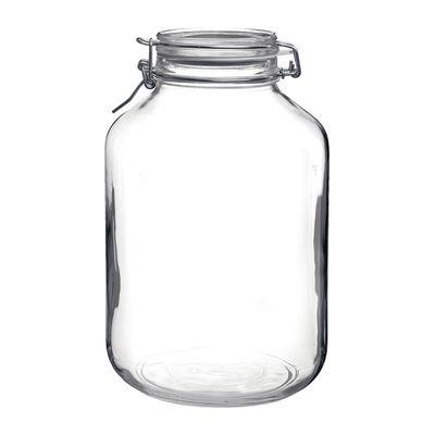 BORMIOLI FIDO JAR GLASS W/CLR LID